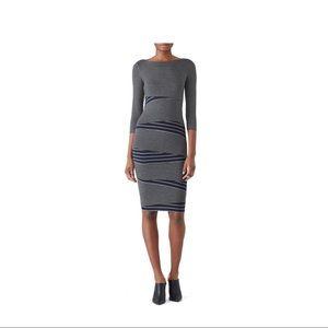Anthropologie Arcade Dress (striped bandage dress)